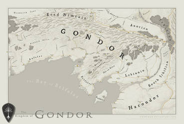 Gondor by SirInkman