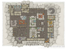 Wizards Academy - Windjina's Dungeon by SirInkman