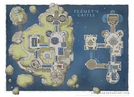 Wizards Academy - Fezmet's Castle by SirInkman