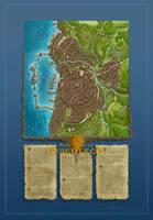 The City of Haerlech by Sirinkman [50%] by SirInkman