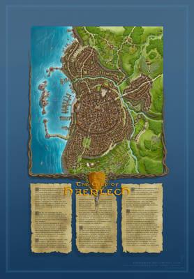 The City of Haerlech by Sirinkman [50%]