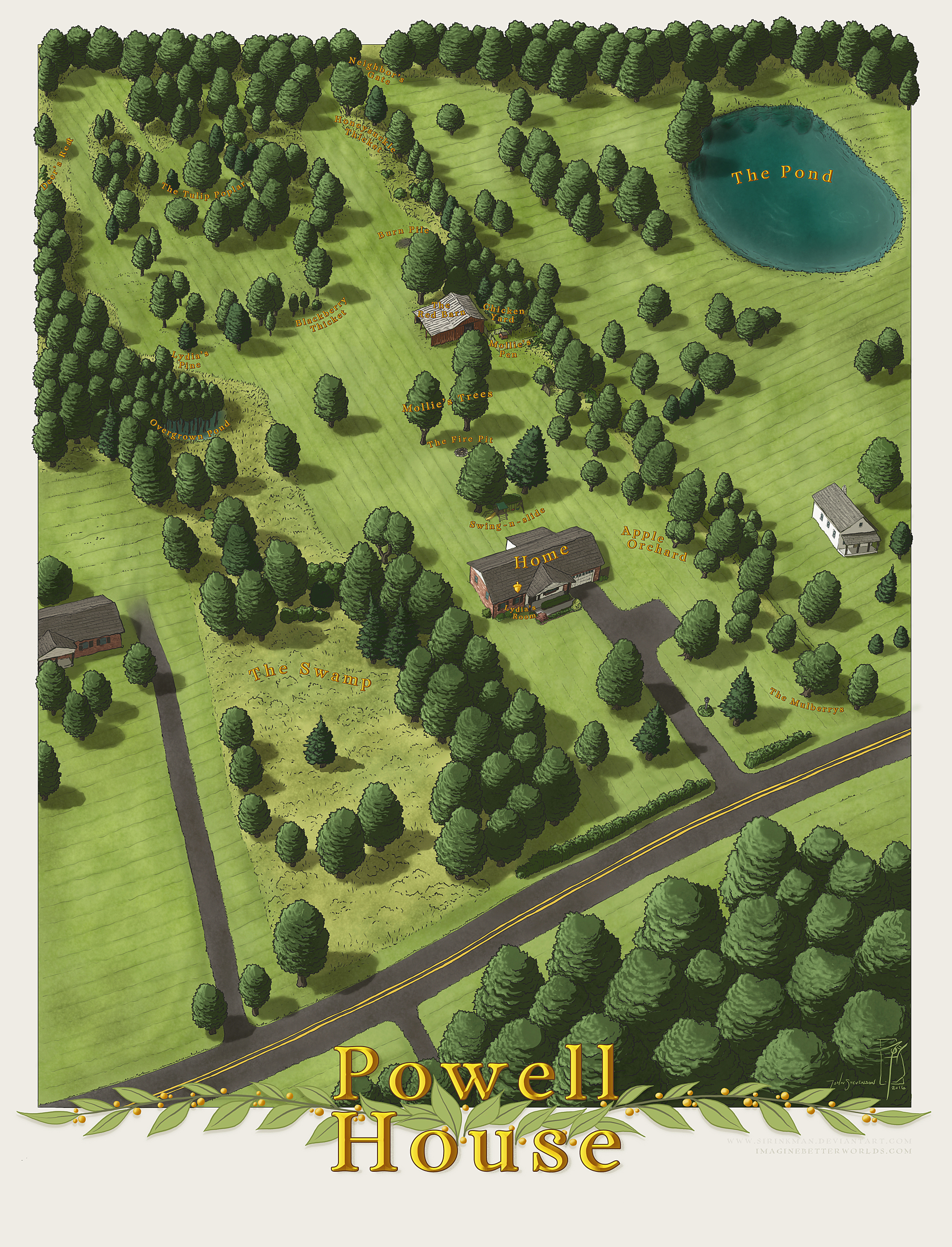 Powell house by sirinkman on deviantart for Powell house