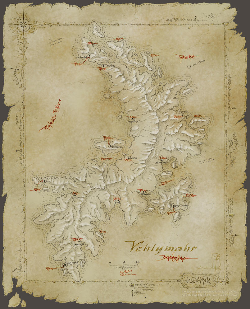 Vehlymahr map by SirInkman