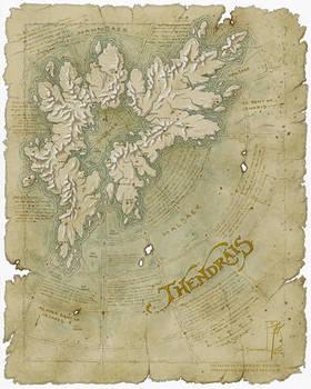 Thendrais map