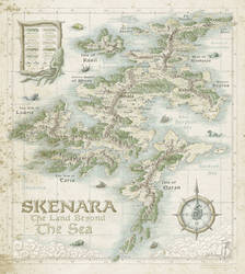 Skenara [Land Beyond the Sea] by SirInkman