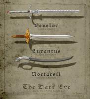 Swords of the Gods [The Dark Eye] by sirinkman by SirInkman