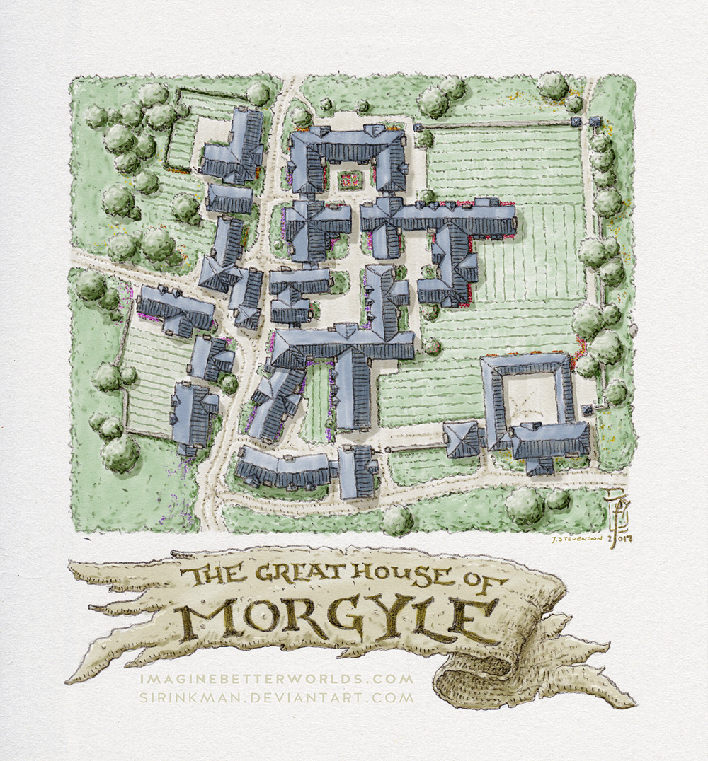 Great House of Morgyle by SirInkman