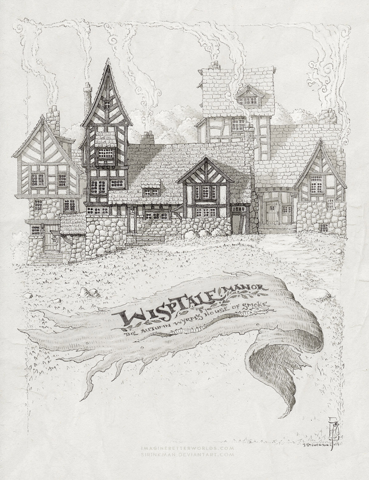 WispTale Manor by SirInkman