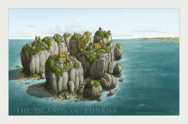 The Islands of Punkha by SirInkman
