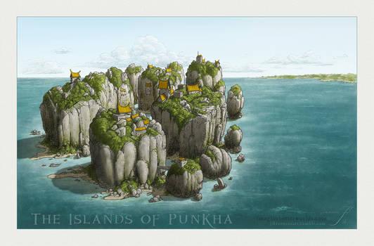 The Islands of Punkha