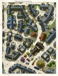 Baldur's Gate street level by SirInkman