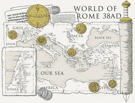 Pontius Pilate - Against The Truth map