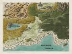Aline - New World map