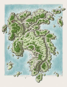 Ganet's Island - Spring
