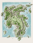 Ganet's Island - Spring by SirInkman