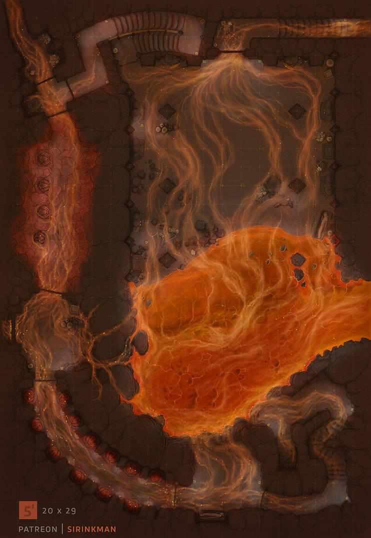 Under Inn dungeon [lava]