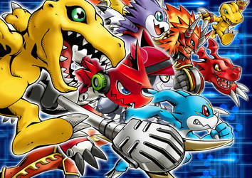 Digimon leader rookie by JAMES390