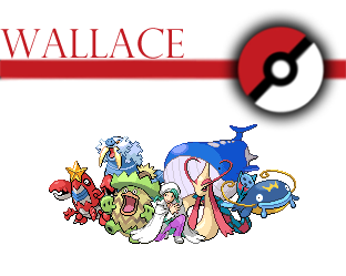 pokemon champion Wallace team by Voltex12345 on DeviantArt