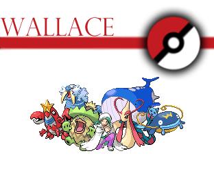 pokemon champion Wallace team by Voltex12345 on DeviantArt
