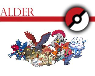 Pokemon Champion Alder Team By Voltex12345 On Deviantart