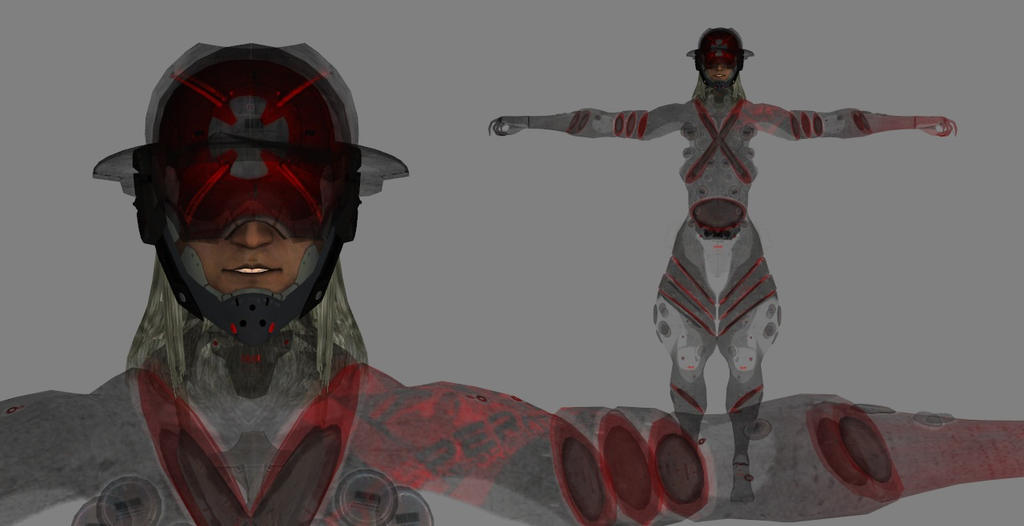 Request for Monsoon XPS model (Metal Gear Rising) by devik563