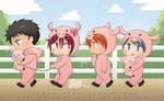 ++Happy Piggy Day!++ by hissorihaka