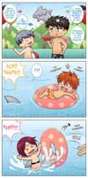++Samezuka Shark Week: Shark Attack+