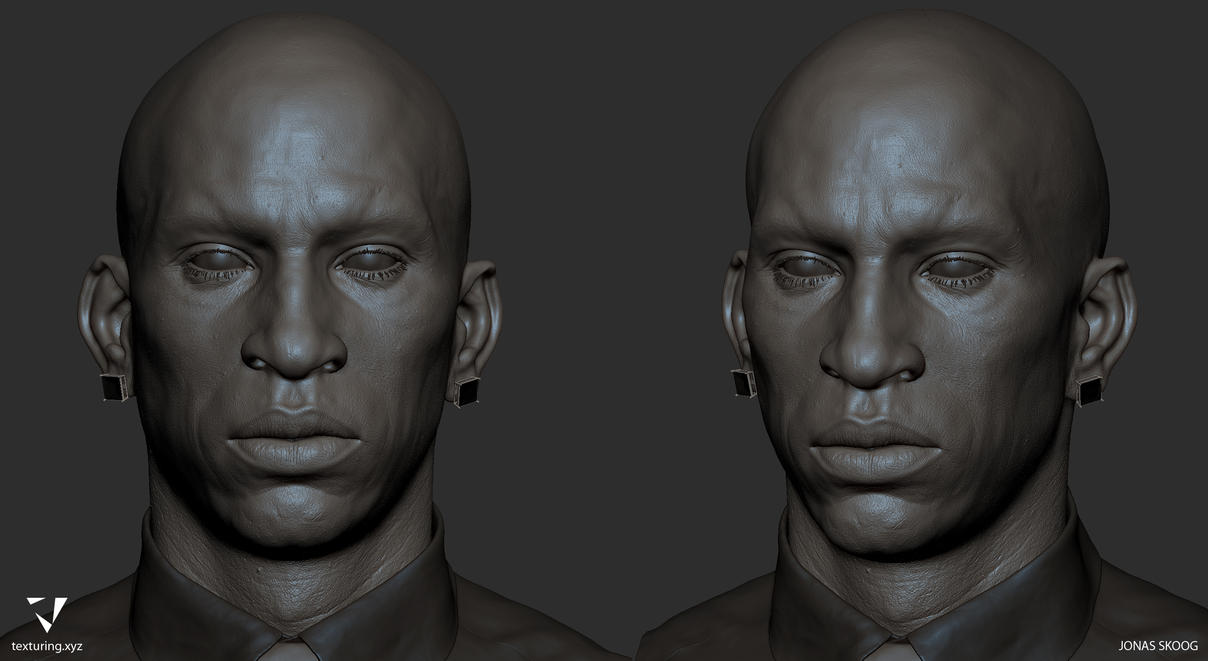 African Male Zbrush 01 by energise