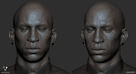 African Male Zbrush 01