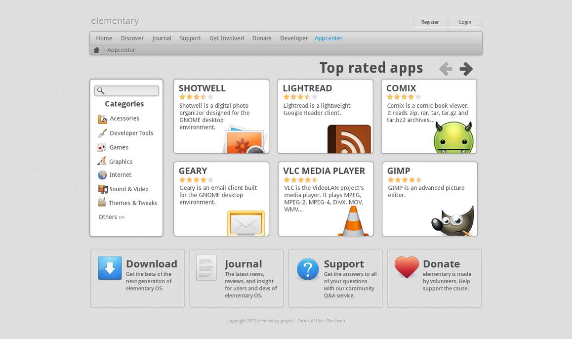 elementary AppCenter Online by cjbgomes