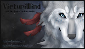VictoriWind Business Card + speedpaint