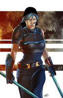 Female Warrior by Luzerrante