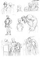 Discworld sketches by Luzerrante