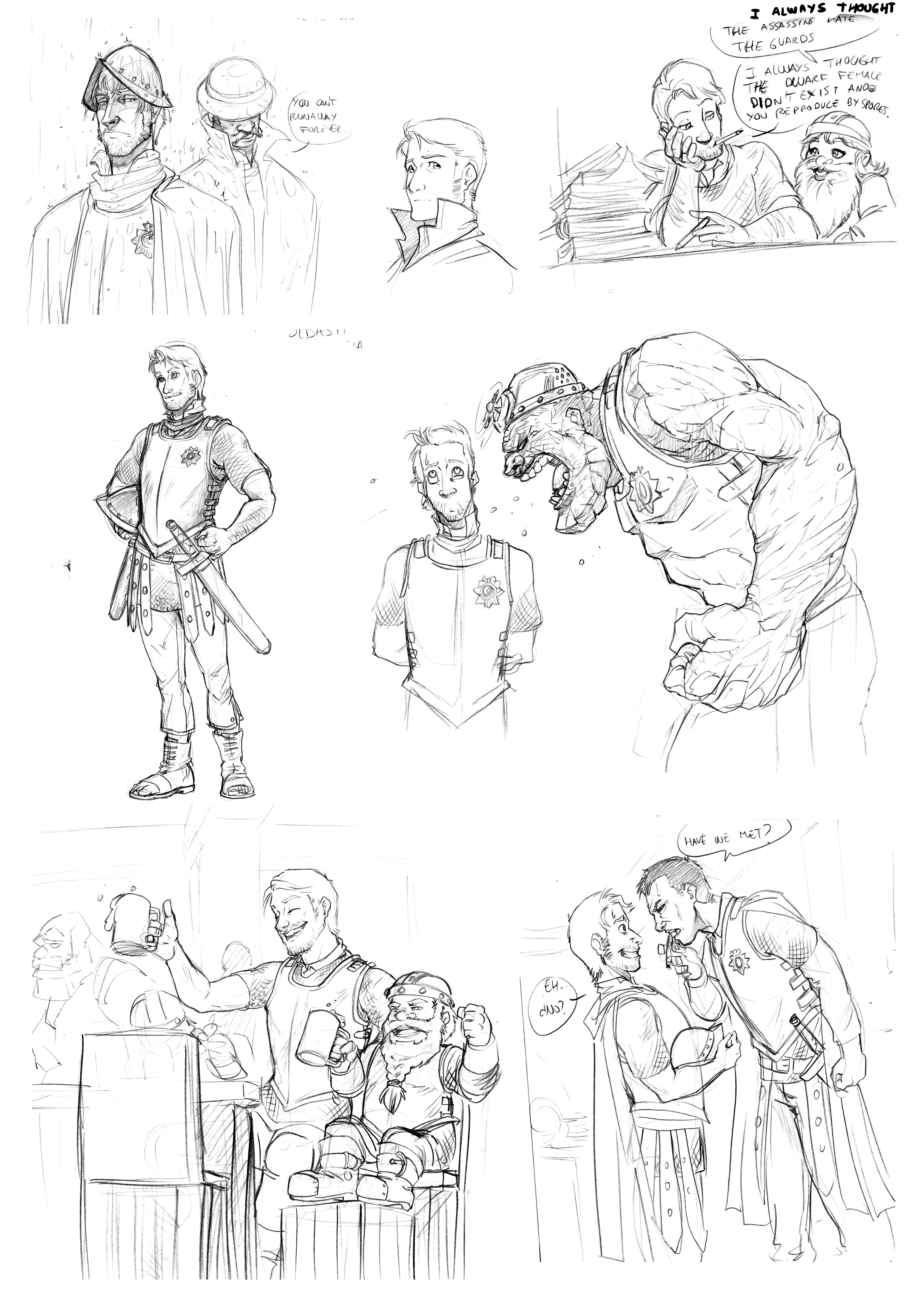 discworld coloring pages | Discworld sketches by Luzerrante on DeviantArt