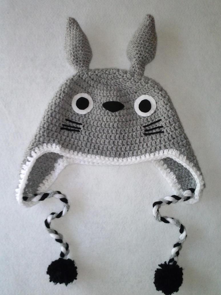 Totoro Crochet hat by Luzerrante