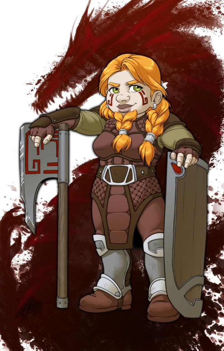 Dragon Age: Sigerith OC by Luzerrante