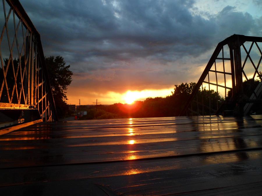 Stormy Sunset by Melanie76