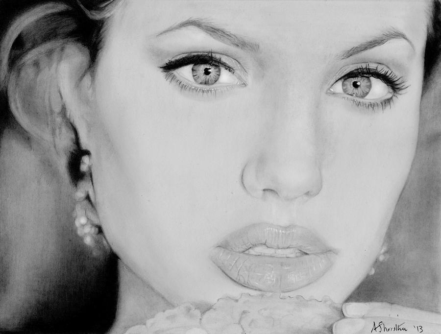 Angelina Jolie by Aj3sh