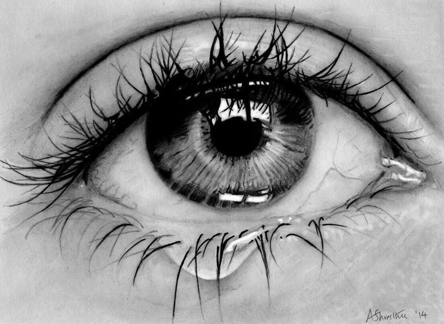Eye study by Aj3sh