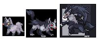 wolf pkmns by julymarte