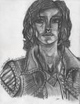 Triss Merigold - Pencil by KathrynRDesigns