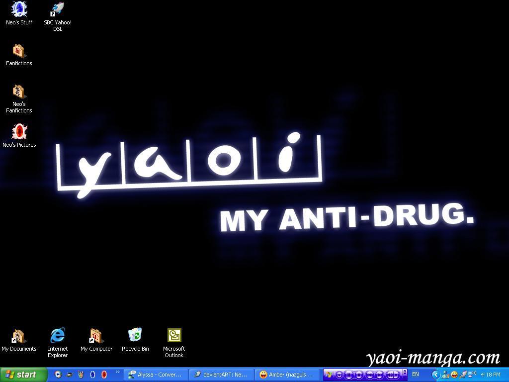 Yaoi Anti Drug Desktop