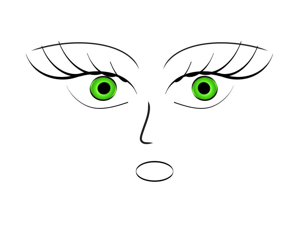 Minimalist face 1 by darkyel on deviantart for Minimal art face