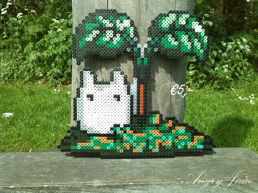 Totoro white beads