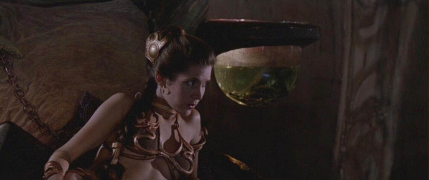 Slave Leia Curious By Starswarsboy On DeviantART