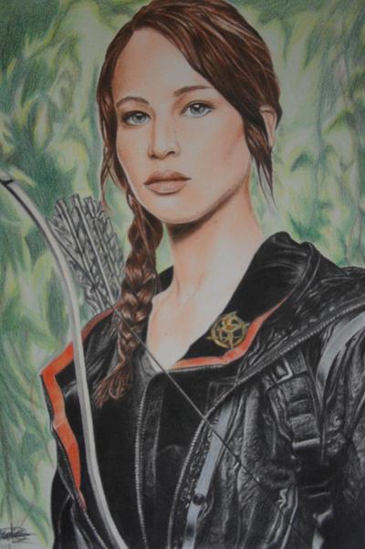Katniss Everdeen by MissRose185