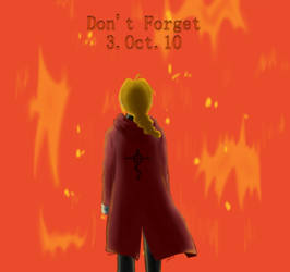 Edward Elric - Don't forget 3.Oct.10
