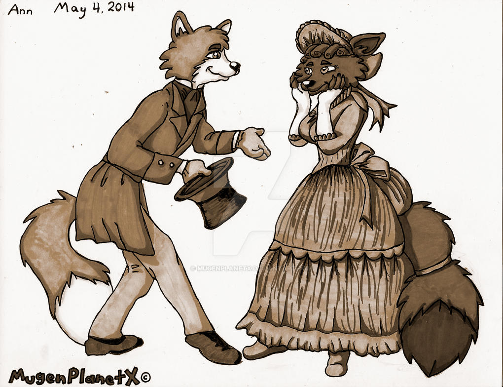 Shall We Dance? (Sepia-toned Version) by MugenPlanetX
