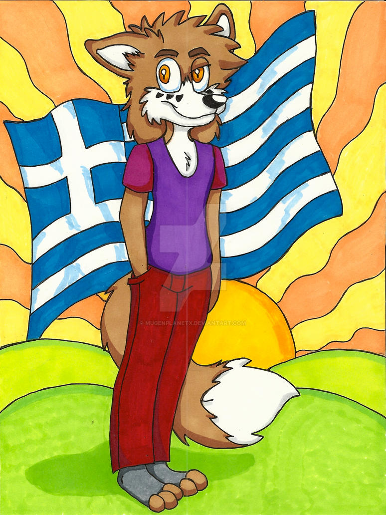Apollo the Greek Wolf by MugenPlanetX