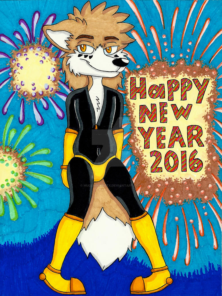 Happy New Year 2016 by MugenPlanetX